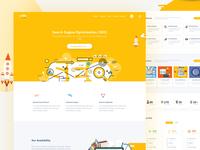 SEO- Creative Landing Page