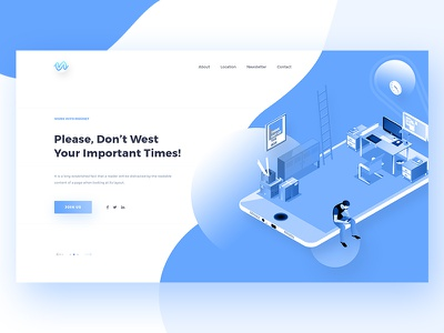 Moonet- Experience Life moonet experience life style ui design ux design graphics design ui kit web design template landing page isometric icon vector shape