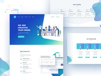 Portfolio - Landing Page Design