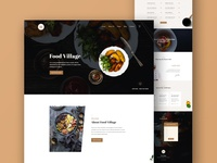 Food Village - Restaurant Web Template
