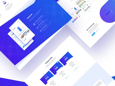 Duzel - App Landing page Template