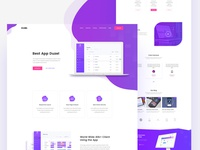 Duzel - SaaS Landing page Template