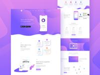 Design on Apps Landing Page
