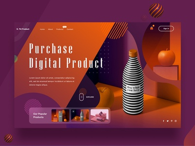 Digital Product Selling Page