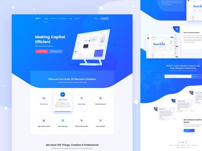 SASCO - SaaS Landing Page Design