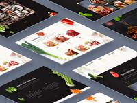 Restaurant Website Design - Display