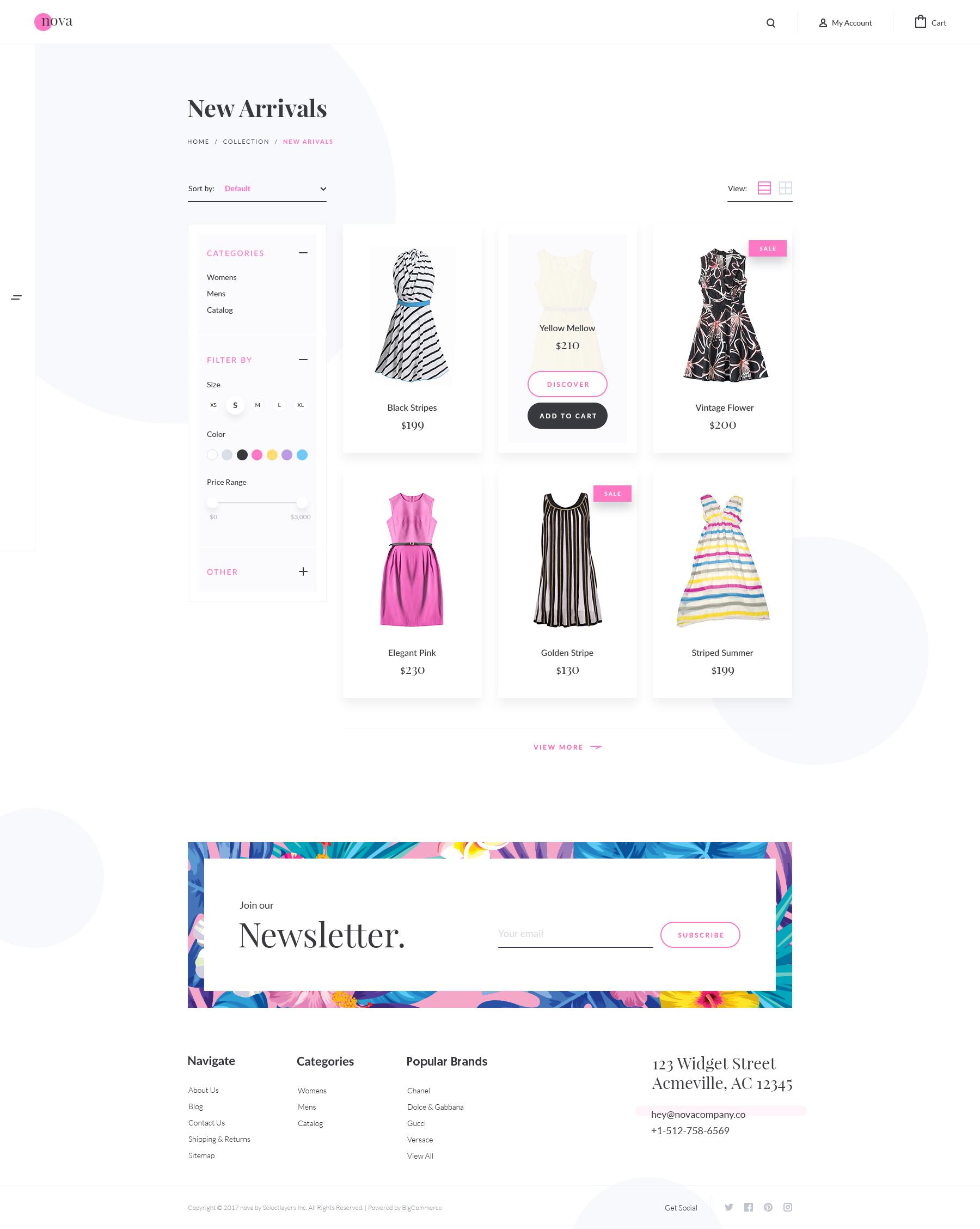 2 nova product list