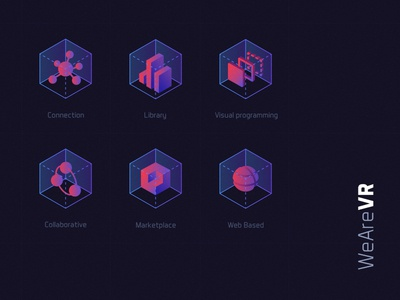 WeAreVR - Icons