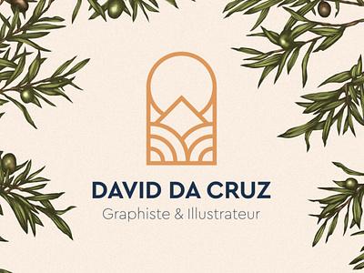 David Da Cruz . Logo design web design animation visual identity logotype branding logo brand graphic design illustration