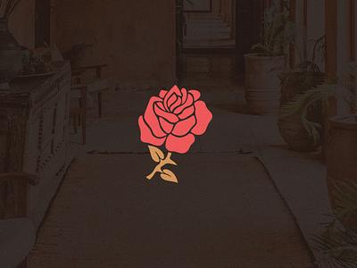 ROSE . Logo Collection plant red rose flower concept icon art branding graphic brand illustration logo design