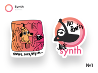 Synth Stickers Part 1