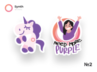 Synth Stickers Part 2