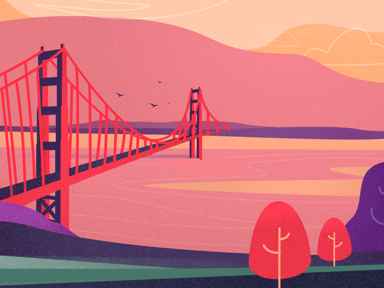 Golden Gate Bridge good friday good design top light san francisco sf golden gate golden gate bridge