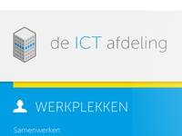 Homepage ICT Afdeling