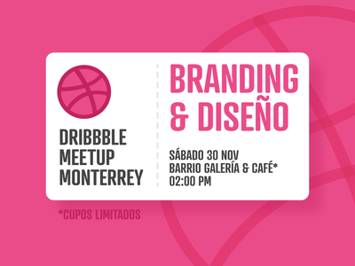 Dribbble Meetup Monterrey