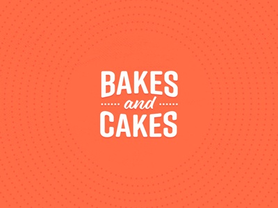 Bakes & Cakes Lettering