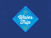 Wales Trip Badge