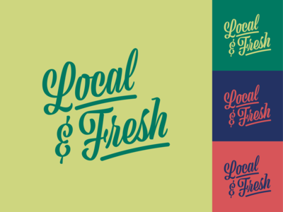 Local & Fresh Lettering