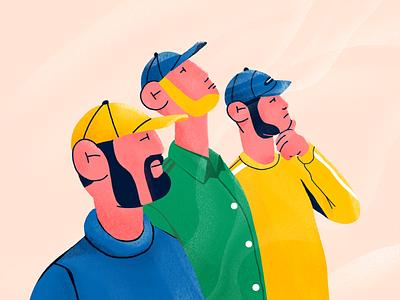 Crew illustration