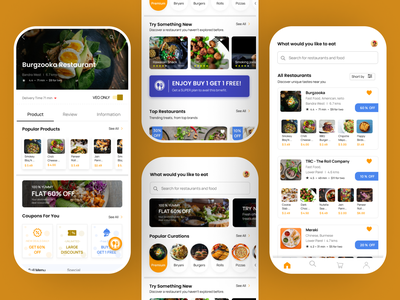 FOODY |  Food Delivery App foody app clean 2021 designer uiux design appdesign graphic design food delivery branding ux design ux ui design food ui