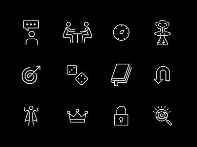WLJ Iconography icon branding illustration iconography graphic design