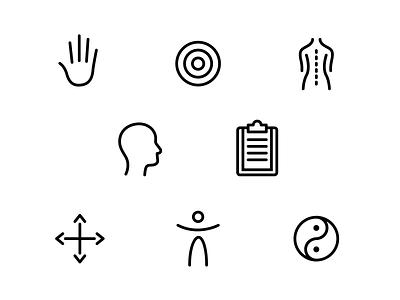 Live & Evolve Iconography iconography branding graphic design
