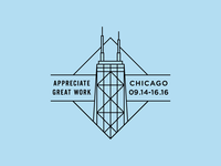 Summit Chicago Badge 1/3