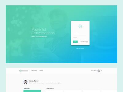 Ema     The Helper conversational ui chatbot planning interfaces webdesign design website interface ux ui