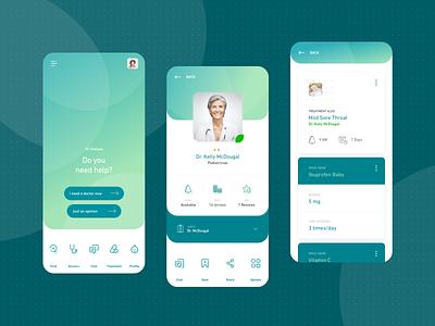 Mediroom baby online doctor appointment paediatrician parents doctors telemedicine healthcare health doctor design app mobile interface ux ui