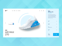 Shopping experience airmax cart buy online shopping ecommerce nike webdesign design website minimal interface ux ui
