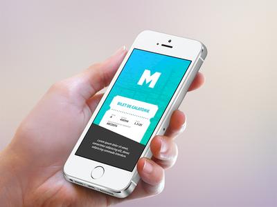 Bus Ticketing App ui ux mobile interactive bus ticket ticketing public transportation simple minimal