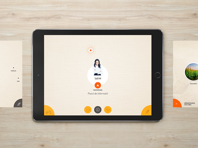 Agro Event | Pitch agriculture agro farm ui ux interface ipad tablet minimal