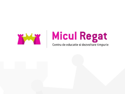 Micul Regat logo small kingdom kindergarden education