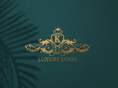 Luxury Logo flat minimal luxurylogo logo design uniquelogo logo design branding