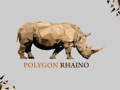 Polygon Logo flat billboard design billboard design uniquelogo minimal luxurylogo logo design logo branding