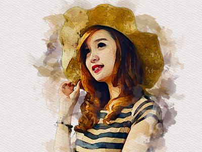 Watercolor Design billboard uniquelogo luxurylogo logo design branding logo watercolorart watercolordesign watercolor
