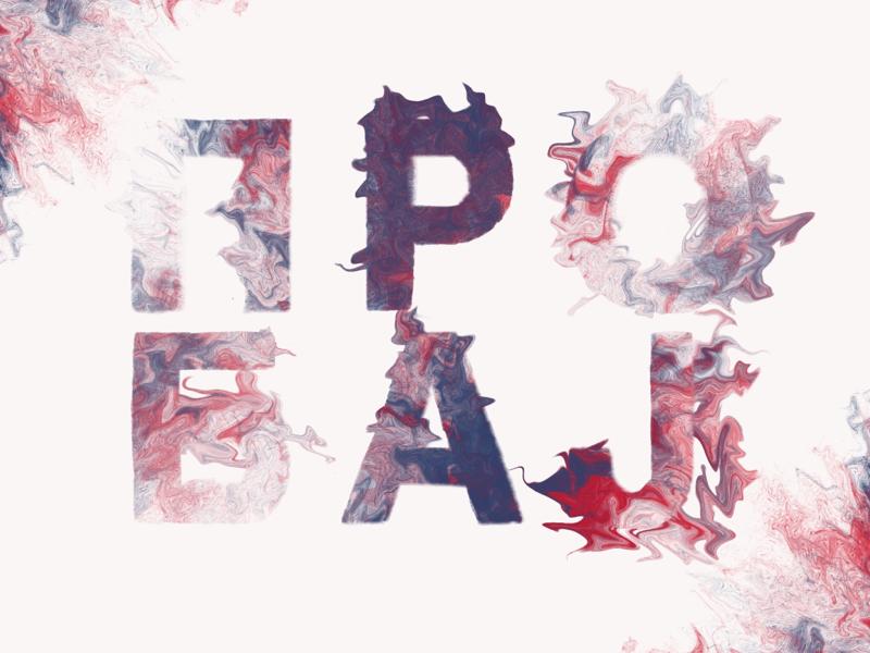 ПРОБАЈ cyrillic typography type