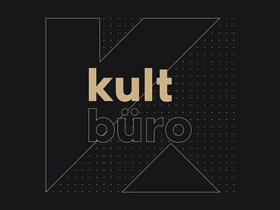 kult.büro logo design sad novi kult brand graphic design collective kolektiv logo branding