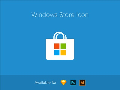 Windows Store icon (vector)