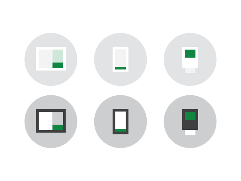 Omnichannel Icons  inapp pointofsale ecommerce mobile icons