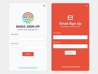 Sonique Design - Email Sign Up