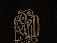 Go hard design