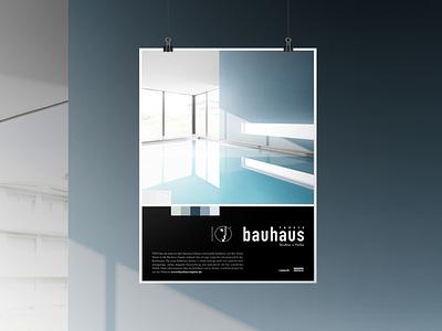 poster Bauhaustapete keyvisual graphic design branding and identity