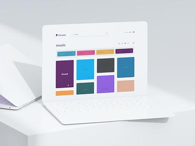 Picular: Music 🎵 iphone macbook pro tool sounds palette colors branding web app desktop mobile web music