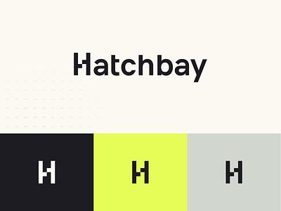 Hatchbay – Logotype pattern business vibrant branding logo web ui