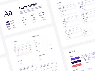 Design System 1.0 guidelines design system typography branding ios icon ui web app design
