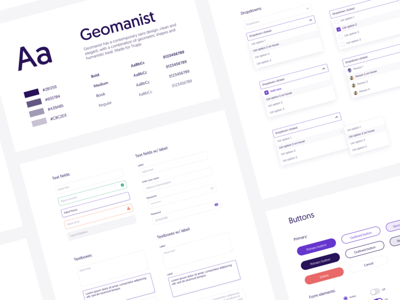 Design System 1.0 guidelines design system typography branding ios icon ui web app design