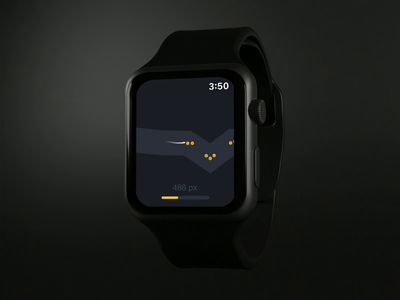 Tubesnake for Apple Watch ⌚️ indiegame game mobile app store iphone ios apple watch ui app design