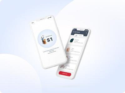 Agent-based Bidding Solution evoketechnologies evoke mobile flat minimal app ux ui