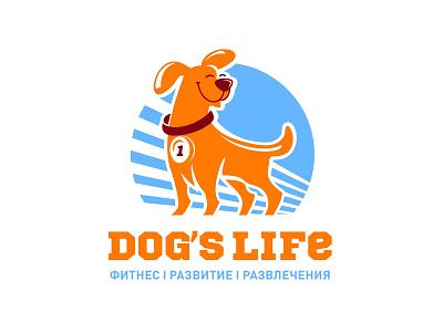 Dog's Life life development entertainment fitness club design company font brandidentity identity branding logotype logo brand